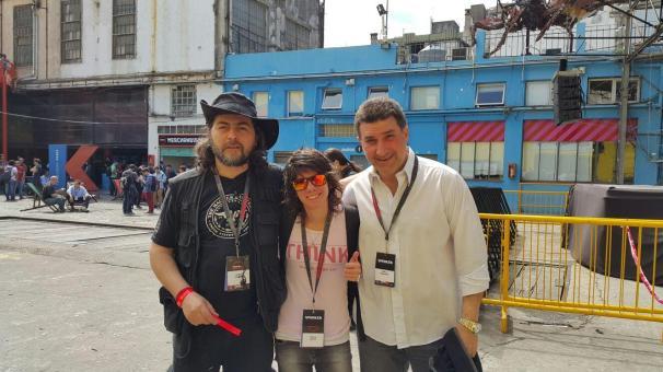 Vampii, Shey Winker y Pablo Romanos