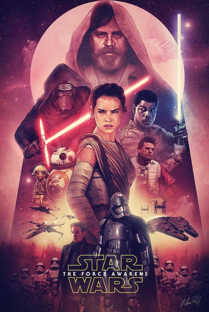 Star Wars The Force Awakens poster culturageek.com.ar