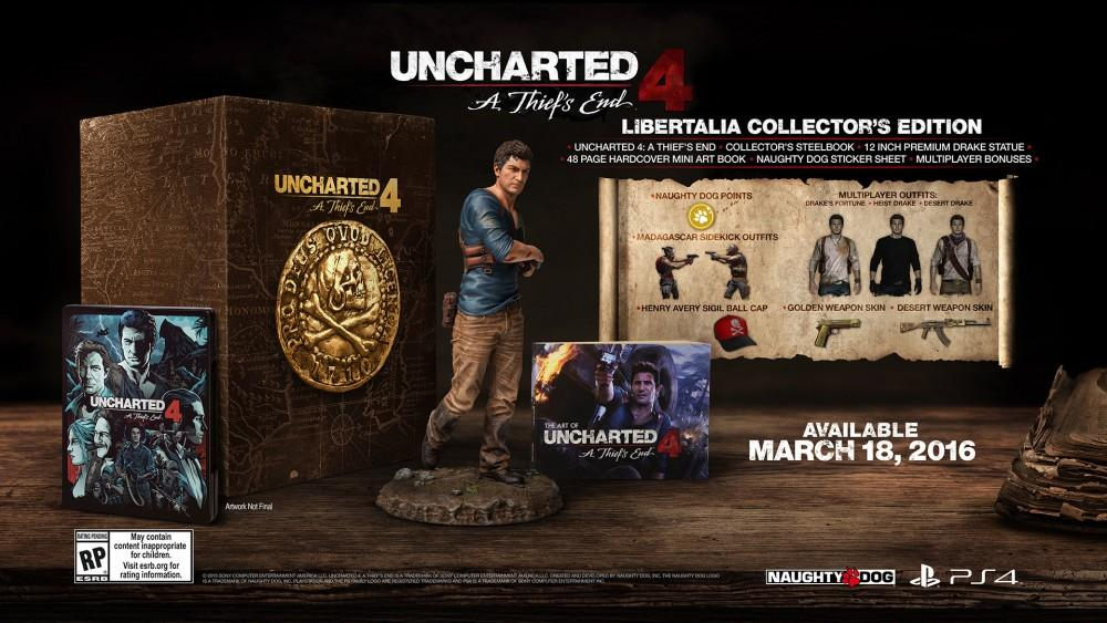 Cultura Geek uncharted 4 Edición Especial Libertalia 1