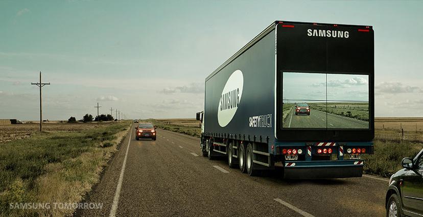 Cultura Geek Samsung Safety Truck