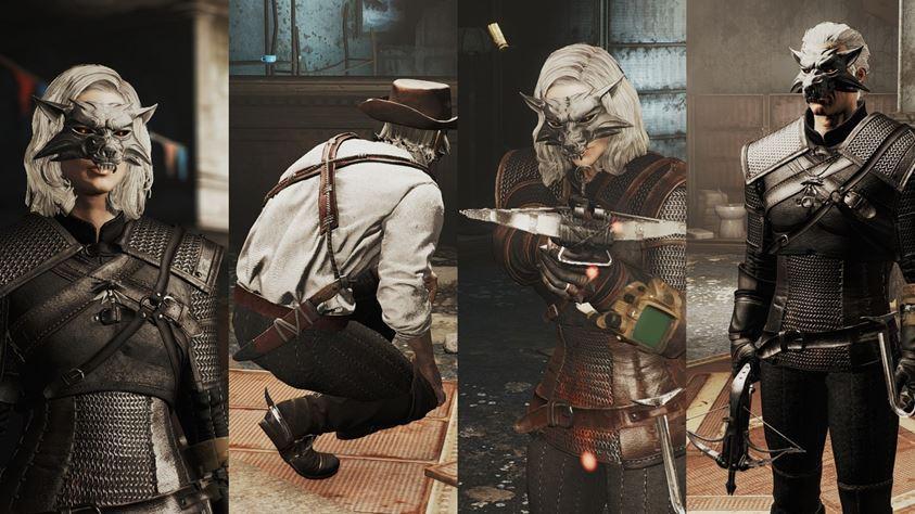 Fallout 4 : agregá la armadura de The Witcher 3 - Cultura Geek