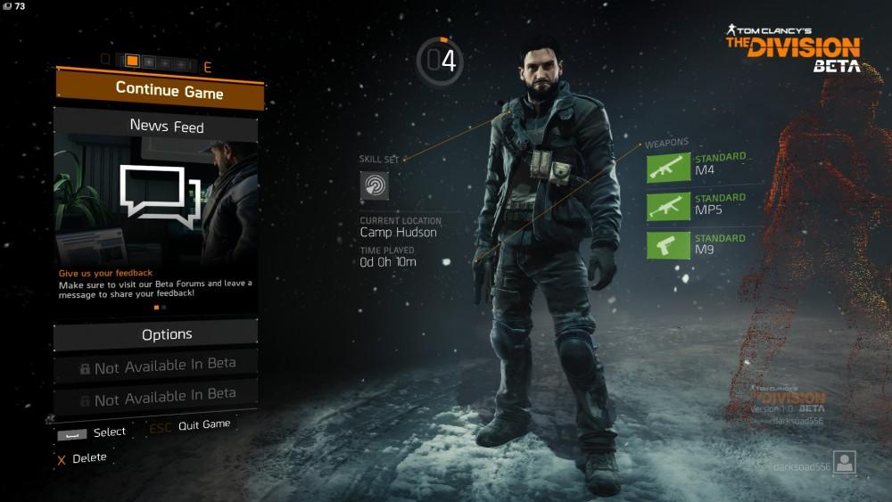 Cultura Geek The Division Beta 1