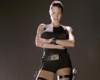 Angelina-Jolie Daisy-Ridley-Lara-Croft www.culturageek.com.ar