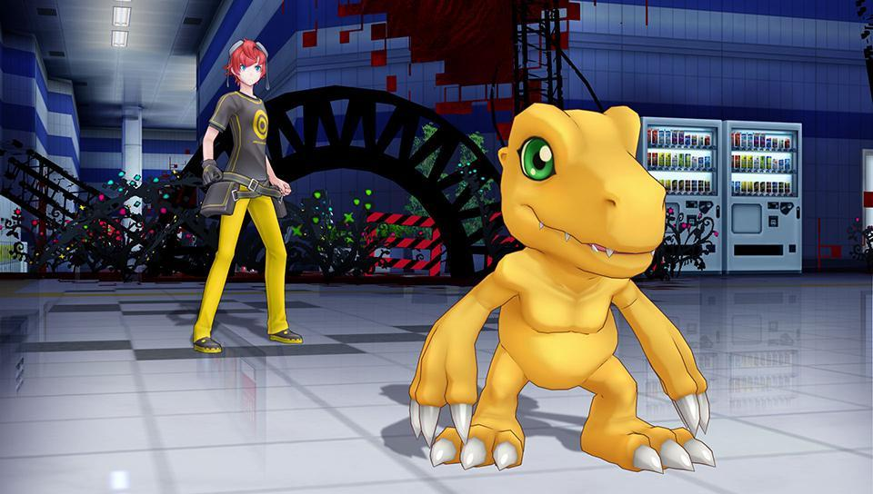 Cultura Geek Digimon Story Cyber Sleuth 1