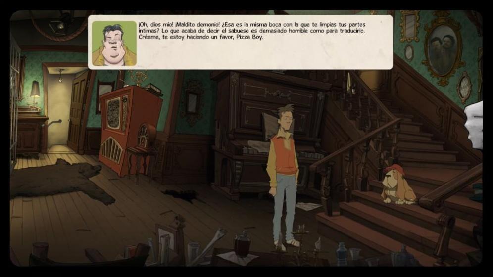 Cultura Geek OKAM Studio The Interactive Adventures of Dog Mendonca & Pizza Boy 8