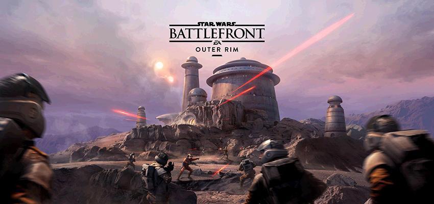 Cultura Geek Star Wars Battlefront Outer Rim
