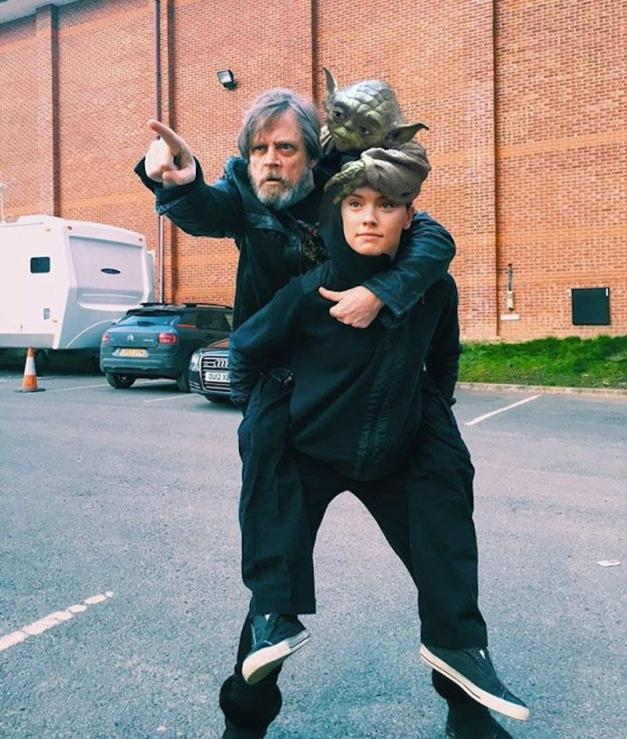 Star Wars - Mark Hamill Daisy Ridley