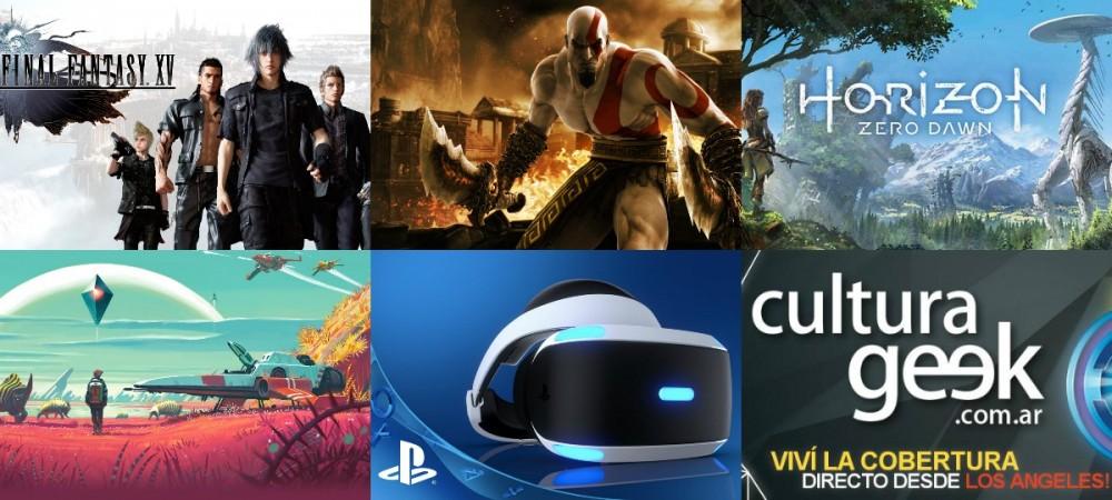 Cultura Geek E3 2016 Playstation