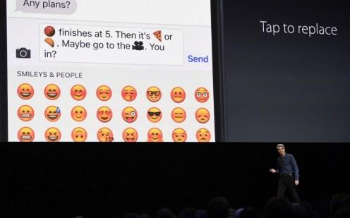 ios 10 emojis wwdc 2016