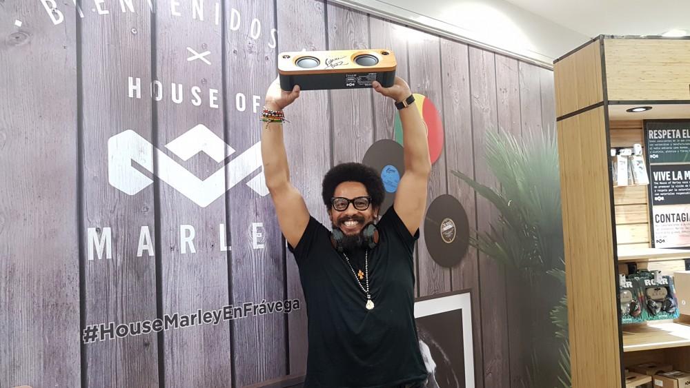 Cultura Geek House of Marley Fravega 1 Rohan Marley