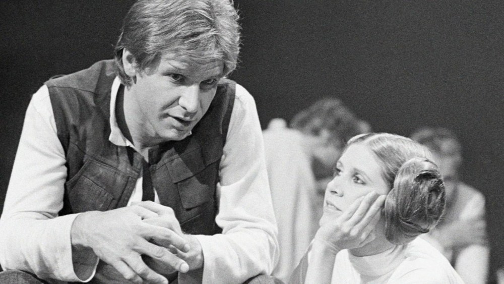 Carrie Fisher Harrison Ford Star Wars www.culturageek.com.ar