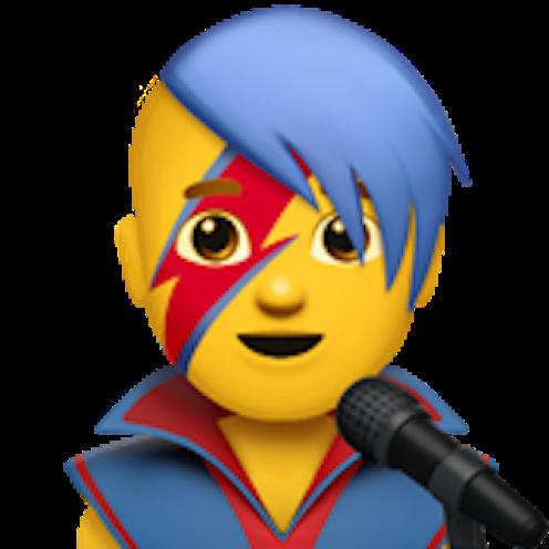 Emoji David Bowie Mas - www.culturageek.com.ar
