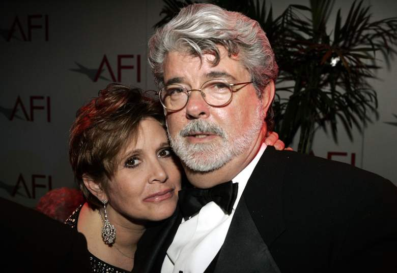 George Lucas - Carrie Fisher