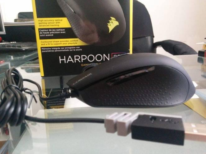 Cultura Geek Review Corsair Harpoon RGB Gaming Mouse 4