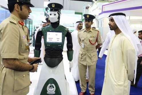 Robot policia dubai www.culturageek.com.ar