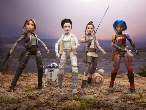 Star wars forces of destiny www.culturageek.com.ar