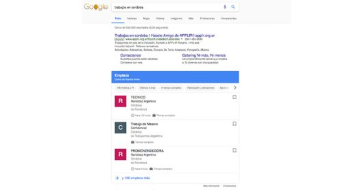 google empleos www.culturageek.com.ar