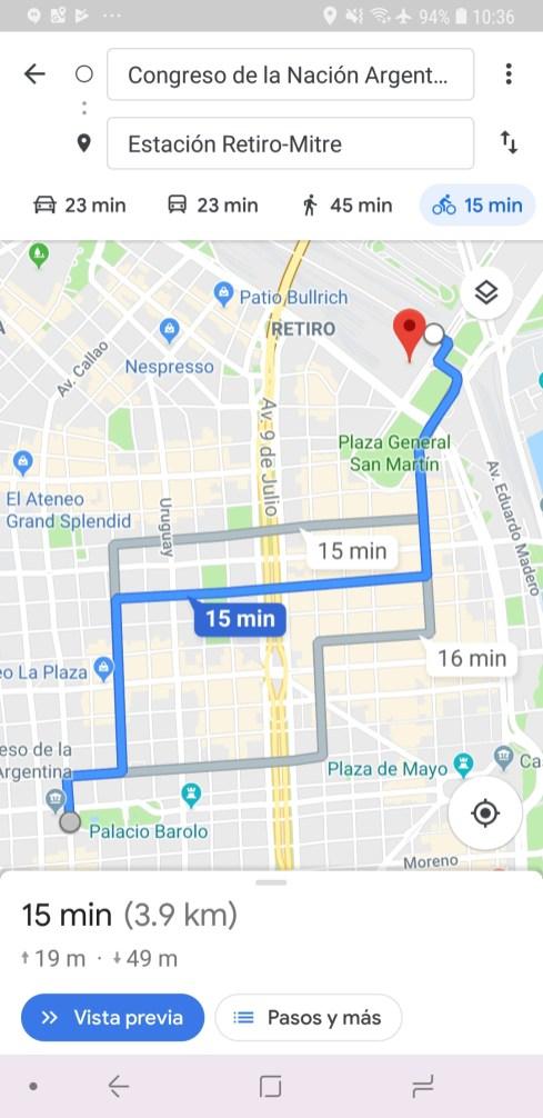 Culturageek.com.ar Google Maps Bicicleta 2