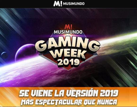 Musimundo Gaming Week