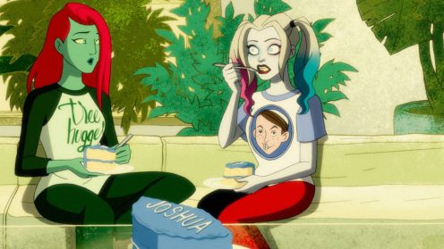 Harley Quinn y Poison Ivy