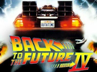 Volver al futuro IV Portada