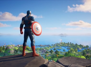 Capitán América en Fortnite Cultura Geek
