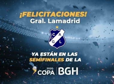 Gral Lamadrid Campeon Copa BGH