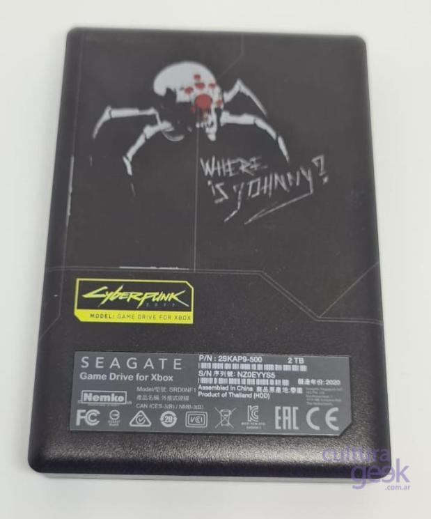 culturageek Seagate Cyberpunk 20776