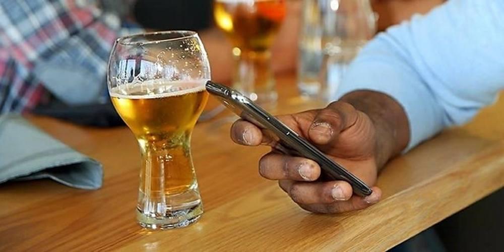 smartphone borracho