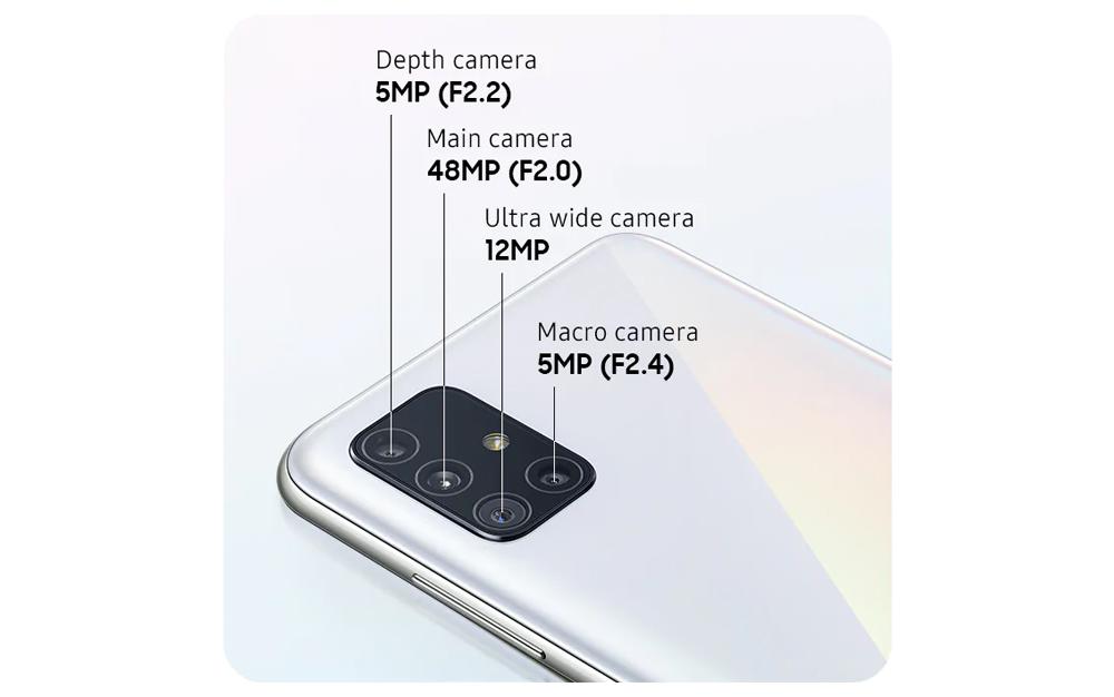 Samsung Galaxy A51 www.culturageek.com.ar