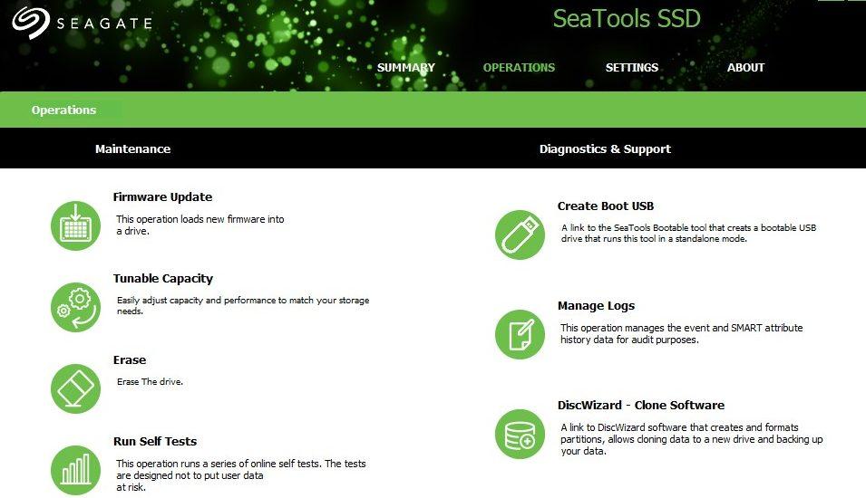 FireCuda 120 review pantalla de seagate seatools www.culturageek.com.ar