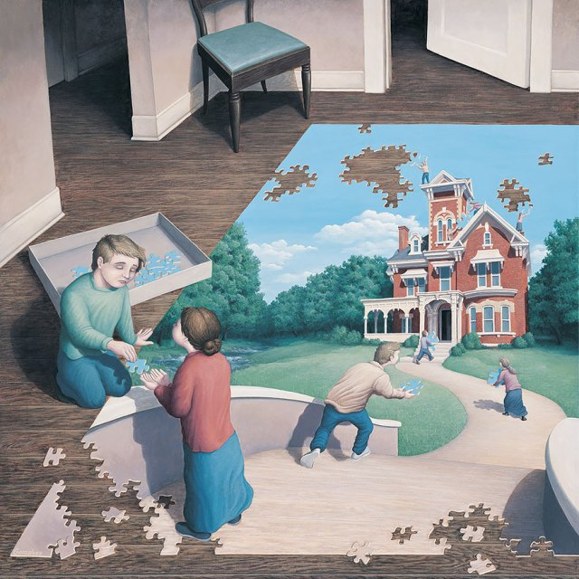 Rob Gonsalves pintura ilusion optica surrealismo 24