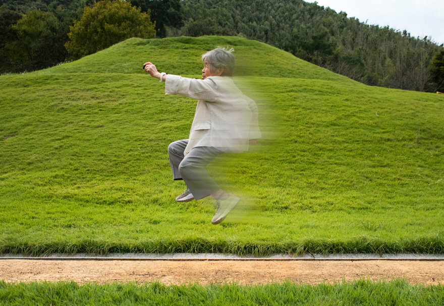 Kimiko Nishimoto divertidos autorretratos 14