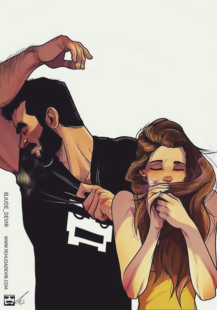 Yehuda Adi Devir ilustraciones de amor 18