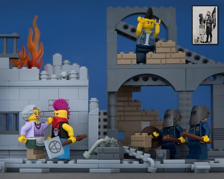 Banksy LEGO 4