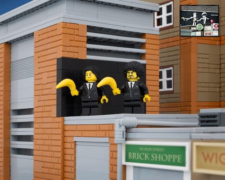 Banksy LEGO 5