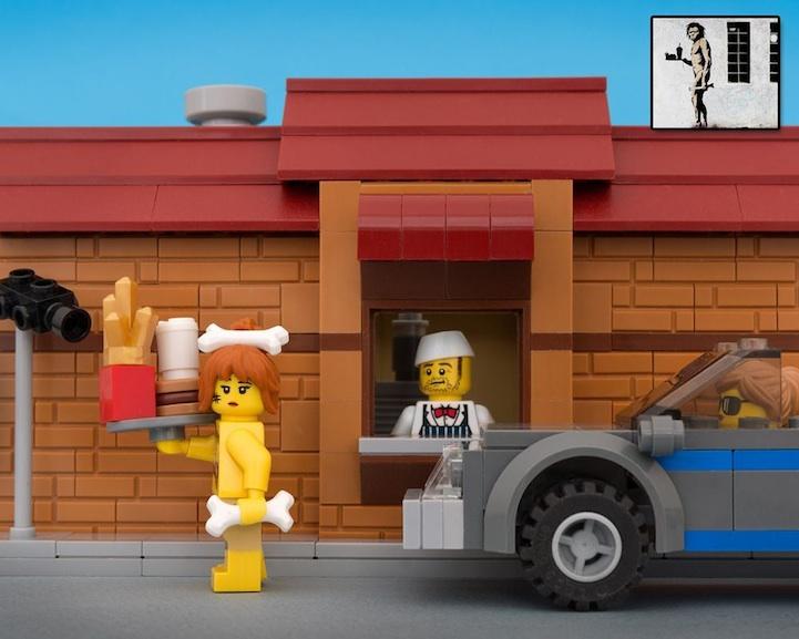 Banksy LEGO 8