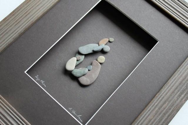 Sharon Nowlan sencillas esculturas piedras 10