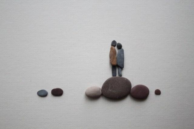 Sharon Nowlan sencillas esculturas piedras 3