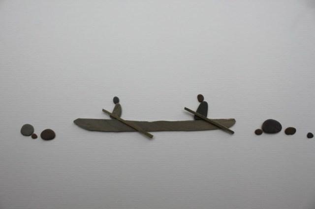 Sharon Nowlan sencillas esculturas piedras 7