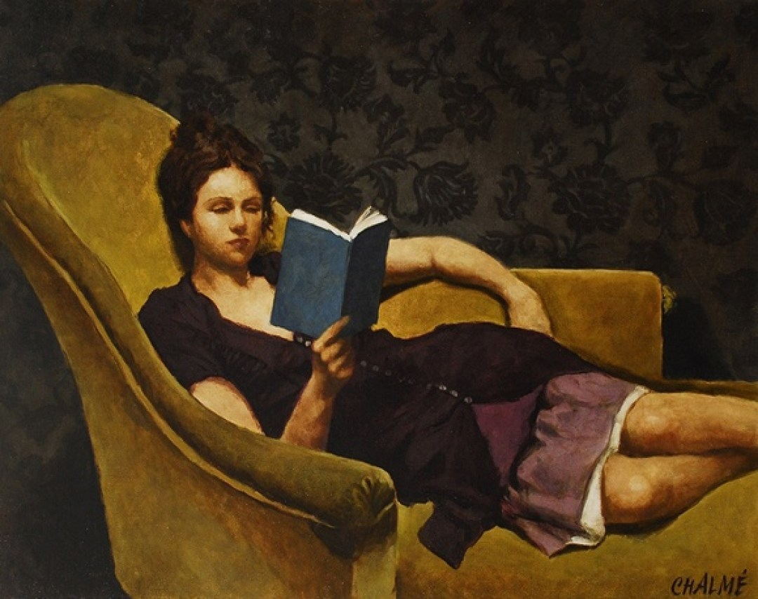 Reading and Art Marc Chalme