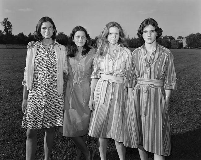 Nicholas Nixon hermanas Brown 1