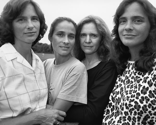 Nicholas Nixon hermanas Brown 13