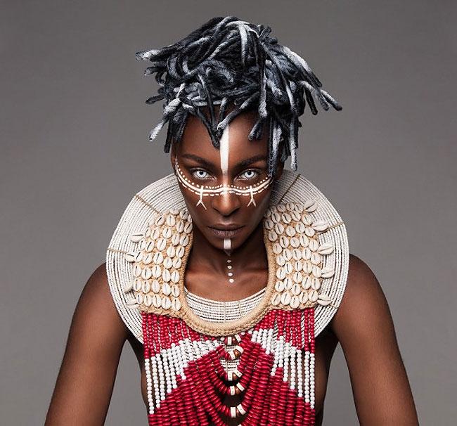 Lisa Farrall peinados africanos 13