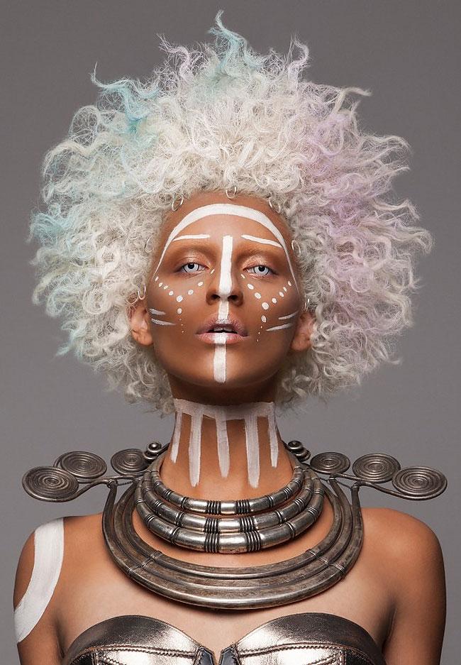 Lisa Farrall peinados africanos 15