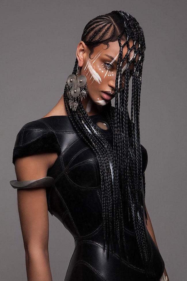 Lisa Farrall peinados africanos 2