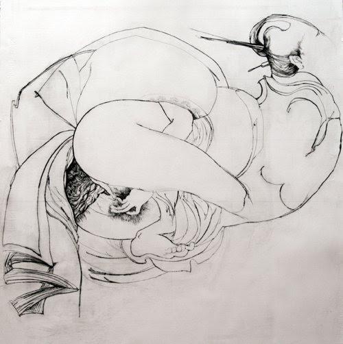 Kati Verebics pintura erotica 2