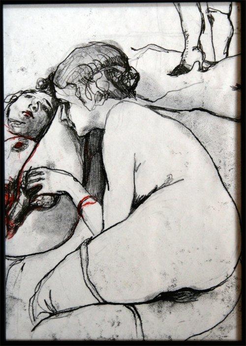 Kati Verebics pintura erotica 7