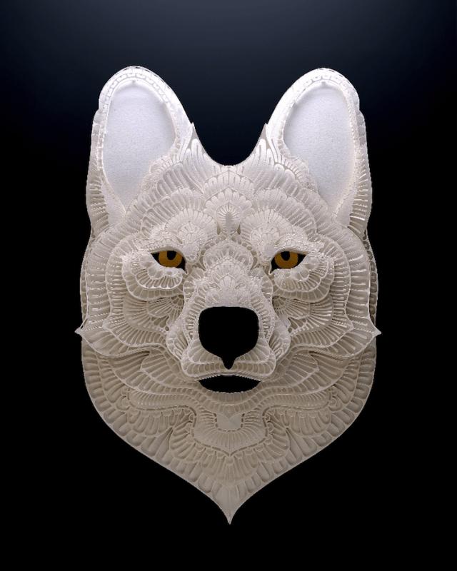 Patrick Cabral esculturas de papel 12