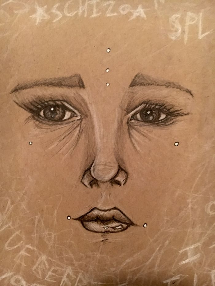 Awkward Apostrophe arte y esquizofrenia 12